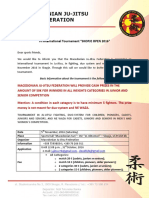 Skopje OPEN 2016 Invitation and Application