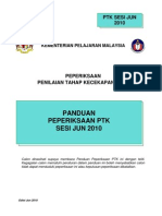 panduan peperiksaan PTK 2010