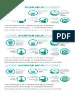 Infografia Ahorro de Agua