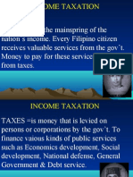MELJUN CORTES's - Tax1 (INCOME TAXATION)  VAT 2nd Lecture