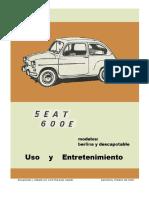 Fiat 600 (Modelo 767 Cm3) en Español