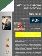 Virtual Classroom Presentation. Original