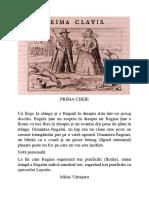 Basilius Valentinus Prima Cheie