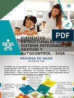 Elementos Estructurales Del Sistema Integrado de Gestión y