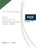 Plan Nacional de Infraestructura 2012 2021