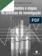 capitulo 1 - Fortin - Investigação em Saúde