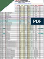 UF MAE Schedule Fall 2016