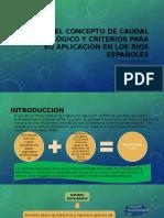 EL CONCEPTO DE CAUDAL ECOLÓGICO Y CRITERIOS PARA.pptx