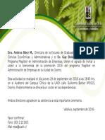 Invitacion Osorno