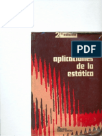 Aplicaciones de La Estática 2a Edición.