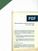 Cap. 1 Elementos Básicos. Estática de La Partícula y Del Cuerpo Rígido