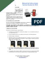 Manual de Instrucciones AL9010