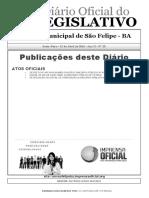 Homologação Concurso São Felipe