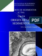 Capitlo Ib_origen de Sedimentos
