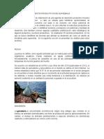 Clasificacion de Ambitos Productivos en Guatemala