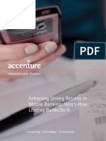Accenture_Achieving Strong Growth in Mobile Banking