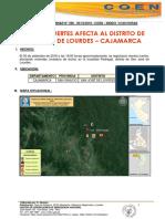 Vientos Fuertes Afecta Al Distrito de San Jose de Lourdes-cajamarca