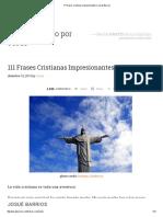 111 Frases Cristianas Impresionantes _ Josué Barrios