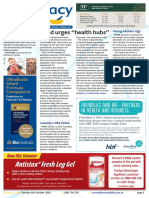 Pharmacy Daily for Tue 04 Oct 2016 - Guild calls for Health Hubs, MPharm vax qualification, Cancer drug cost/benefit query, Guild Update and much more