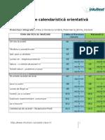Planificare Calendaristica Orientativa Clasa a Iiia Intuitext