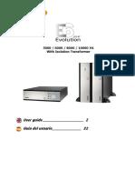 User Guide E6 LCD RT Evolution_5-10K w Transfo 05 13 AA 59 206 14 en ES