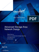 BRKSAN-2883 - Advanced Storage Area Network Design (2016 Las Vegas)