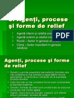 3 Agenti, Procese Si Forme de Relief