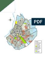 Mapa de los distritos