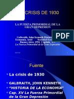 Crisis de 1930 Galbraith[1]