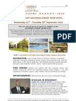 Kosher Hotels  - Sukkot Vacation at  Hacienda  Forest View Galelli  Israel