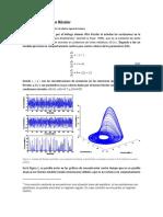 Análisis de estabilidad de una linealización del Modelo de Rössler