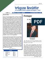 Portuguese Newsletter