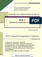 Contraste de Amperimetro y Voltimetro