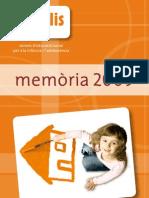 Memòria Fundació Resilis 2009_CAT