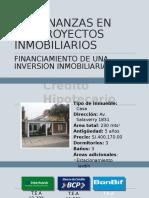 Las Finanzas en Los Proyectos Inmobiliarios