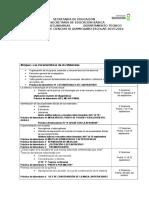 Dosificación Anual Ciencias III 15-16