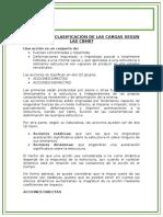 Definición y Clasificación de Las Cargas Según Las Cbh87