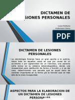 Electiva Dictamen de Lesiones Personales