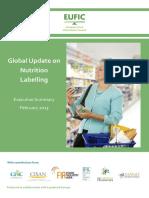 2013. Etiquetado Nutricional EUFIC