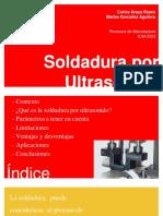 Soldadura Por Ultrasonido - Presentacion