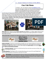 Cox News Volume 6 Issue 3