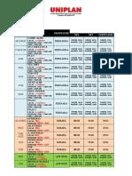 Orientações e Calendário - Dependencias 2016