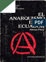 El Anarquismo en El Ecuador - Alexei Paez