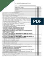 Lista de Cotejo Para Evaluar Las Planeaciones