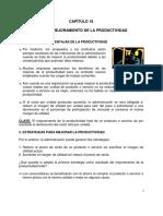 Cap 3. Plan de Mejoramiento de La Productividad
