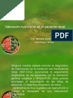 Valoración Nutricional en El Paciente Renal