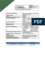 Ficha Tecnica de Servicio Docencia