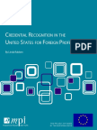 Credential reCognition in the United StateS for foreign Professionals