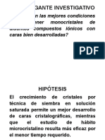 Poster Cristales