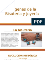 Orígenes de La Bisutería y Joyería
